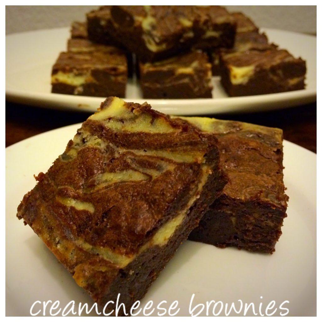 Creamcheese Brownies Dona S Delight